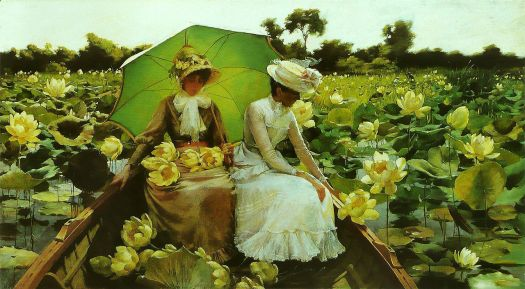 1280px-Charles_Courtney_Curran_-_Nénuphars