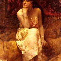 Bilder av Flauberts och Wildes Salome