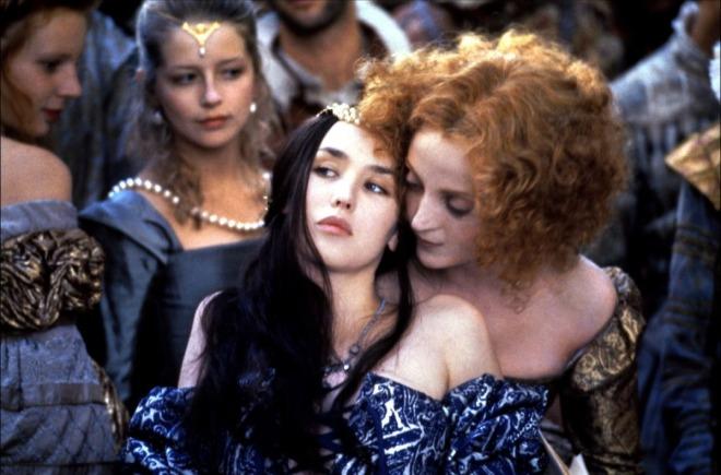 Marguerite de Valois, kallade Margot, Henri av Navarras hustru. (Och hennes rödhåriga hovdam.)