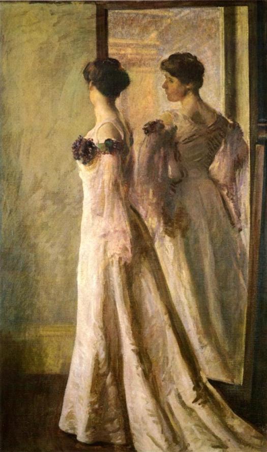 The Heliotrope Dress – titeln syftar här förmodligen på färgen