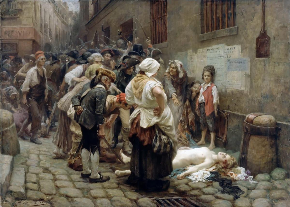 La mort de princesse deLamballe